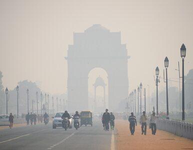 Smog sparaliżował Indie. Zamknięto szkoły i lotniska