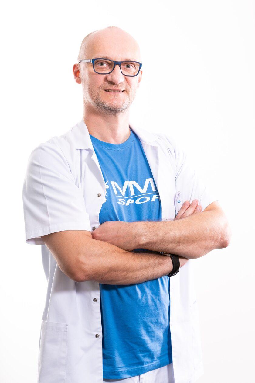Dr n. med. Michał Michalik - założyciel i właściciel Centrum Medycznego MML