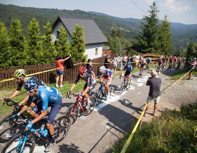 Kolejny wypadek na Tour de Pologne. Kolarz został przetransportowany...