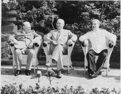 """Ostatnia konferencja """"Wielkiej Trójki"""". Koniec II wojny światowej i..."""