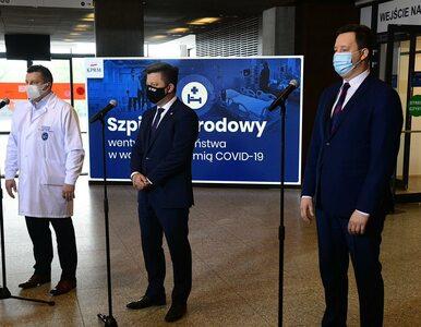 Warszawa. Trwają przygotowania do ponownego otwarcia Szpitala Narodowego