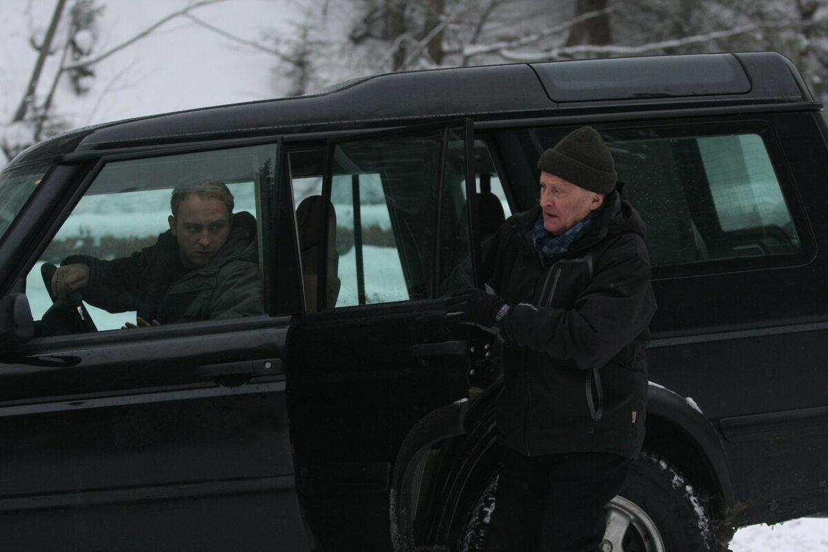 """Wojciech Pszoniak jako Stefan Grabek w filmie """"Kret"""" (2011)"""