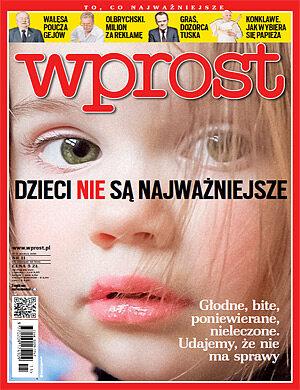 Okładka tygodnika Wprost nr 11/2013 (1568)