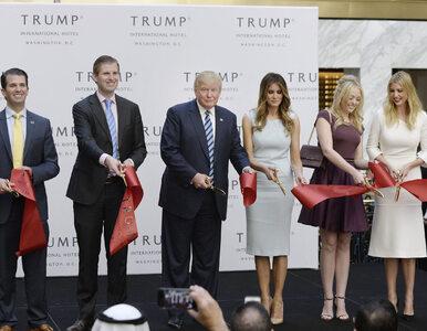 Razem z Trumpem pożegnamy jego liczną rodzinę. Czym zajmują się dzieci...
