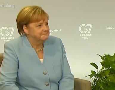 Merkel nie wytrzymała. Parsknęła śmiechem w obecności Trumpa