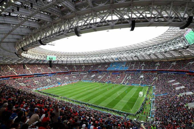 Stadion Łużniki, Moskwa
