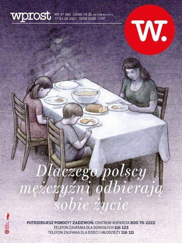 Okładka tygodnika Wprost nr 37/2021 (2002)