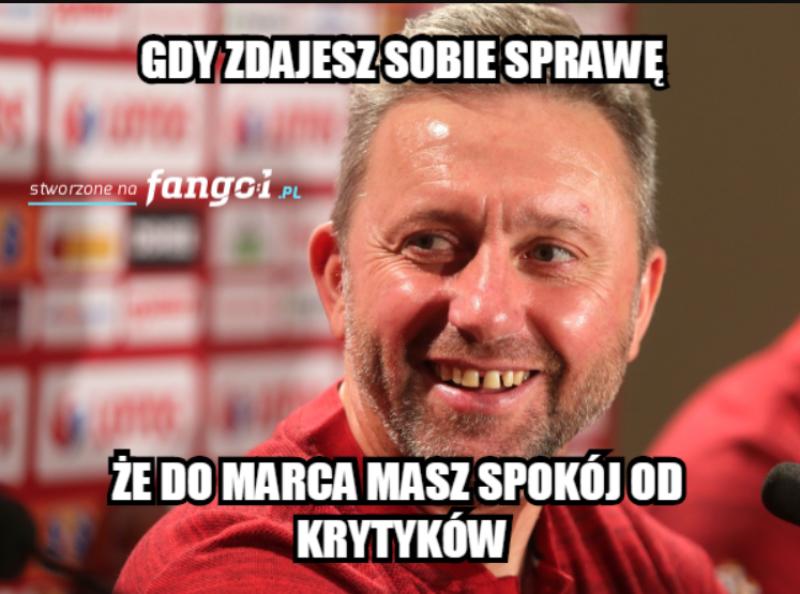 Mem po meczu Polski ze Słowenią