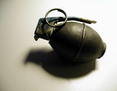 12-latek napadł na bank z granatem w dłoni