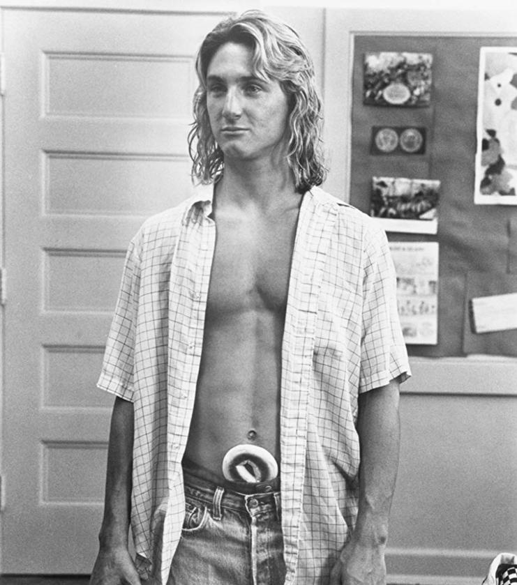 "Sean Penn w ""Beztroskie lata w Ridgemont High"" (1982)"