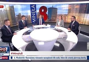 Wpadka Krzysztofa Ziemca w TVP Info. Zapomniał, kim jest jego gość