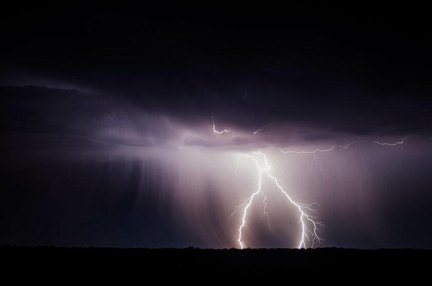 Burza, błyskawica, zdj. ilustracyjne