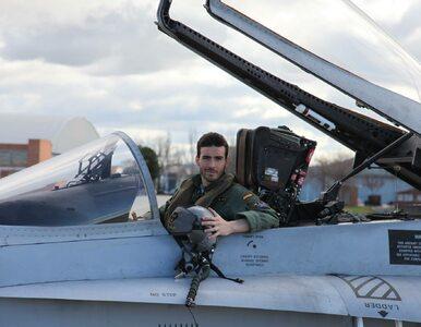 Samolot myśliwski rozbił się w pobliżu Madrytu. To drugi taki wypadek w...