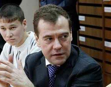 """""""Putin wyraża własne opinie. W imieniu Rosji wypowiedział się Miedwiediew"""""""