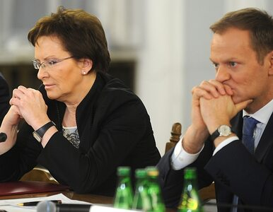 """Dziś spotkania Tuska z Kopacz nie będzie. """"Tusk rozważa bycie wciąż..."""