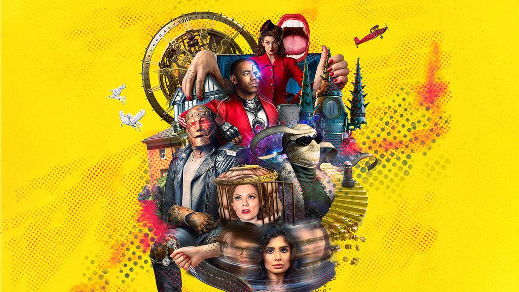 """Grafika promująca 3. sezon serialu """"Doom Patrol"""""""