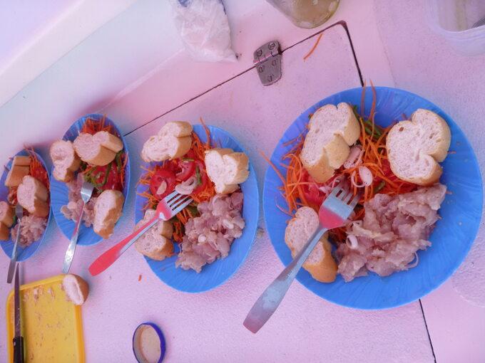 Madagaskar -lunch nałodzi