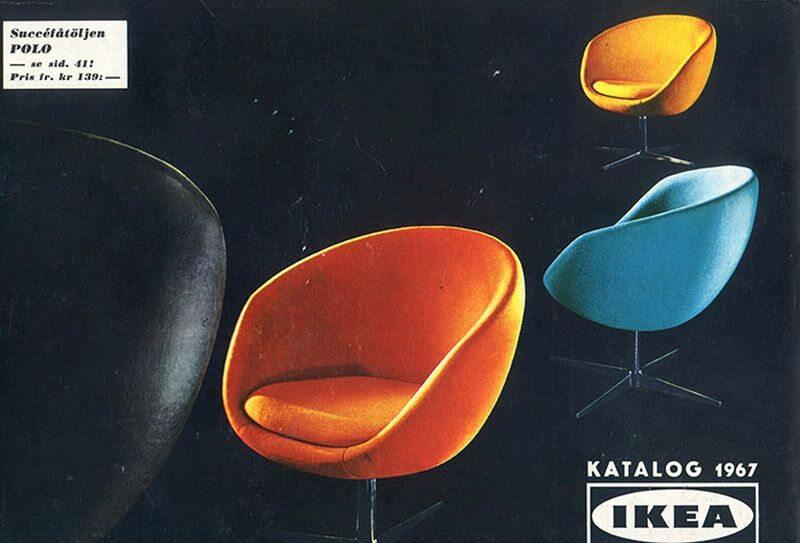 Okładka katalogu IKEA z 1967 roku
