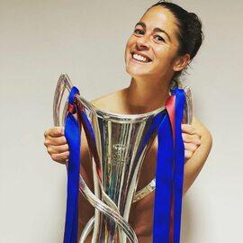 Marta Torrejon pozowała nago. Tak piłkarka świętowała triumf w Lidze...
