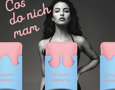 """Gwiazdy reklamują """"cudowny żel do piersi"""". Kampania z udziałem Wieniawy..."""