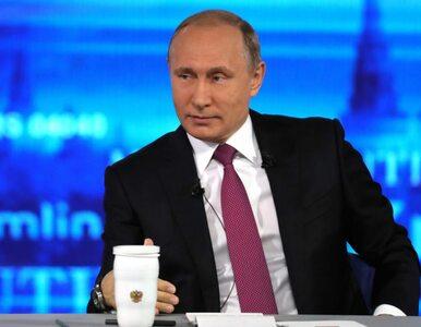 """Putin nie boi się sankcji ze strony USA. """"Nie postawią nas w ślepym zaułku"""""""