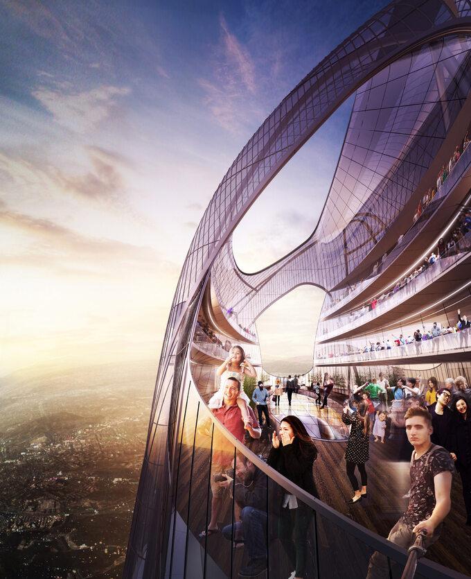 Najwyższy budynek wChinach