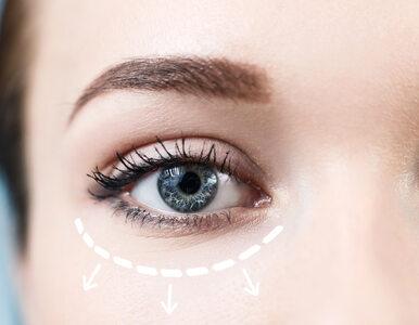 Kosmetyczny lifting oka bez skalpela