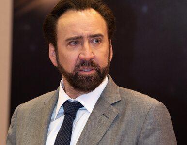 Nicolas Cage chce unieważnić małżeństwo. Cztery dni po ślubie