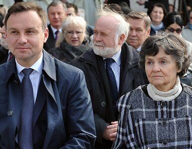 Matka Andrzeja Dudy: Nie musiał dziękować Kaczyńskiemu. Oni są jednością