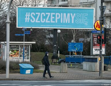 Rząd rozpoczyna kampanię billboardową #SzczepimySię. Cel jest jasny