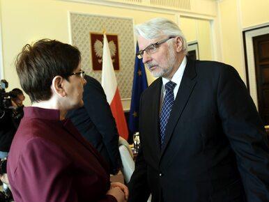 """Szef MSZ o swojej """"medialnej"""" dymisji: Nigdzie się nie wybieram"""
