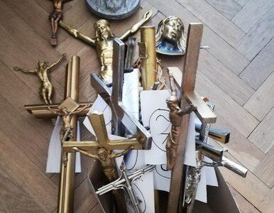 30-latek kradł krzyże z nagrobków na cmentarzu. Został zatrzymany