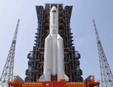 Szczątki rakiety Długi Marsz 5B spadły na Ziemię. Zapowiedzi Chin się...