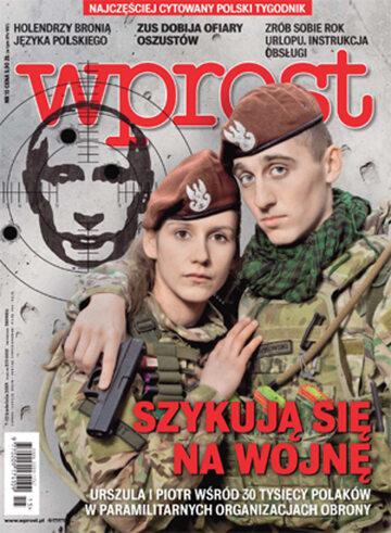 Okładka tygodnika Wprost nr 15/2015 (1674)