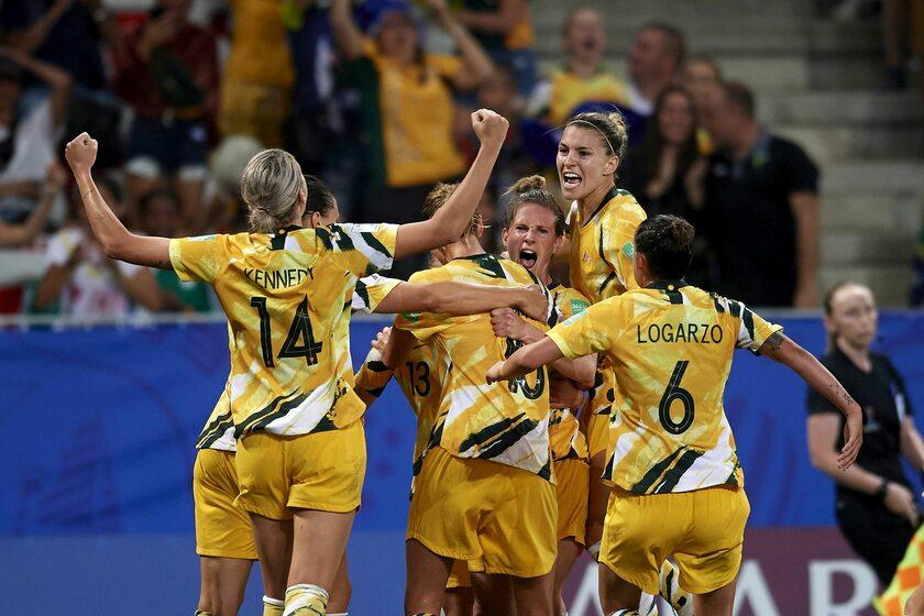 Piłkarki z reprezentacji Australii