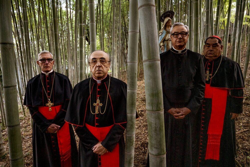 """Kadr z serialu """"Nowy papież"""""""