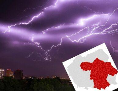 RCB wysyła alerty SMS. Ostrzeżenia IMGW przed gwałtownymi burzami