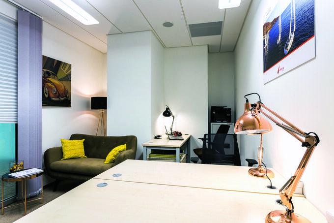 Wynajmując biuro wfirmie OmniOffice, najemca niemusi inwestować waranżację