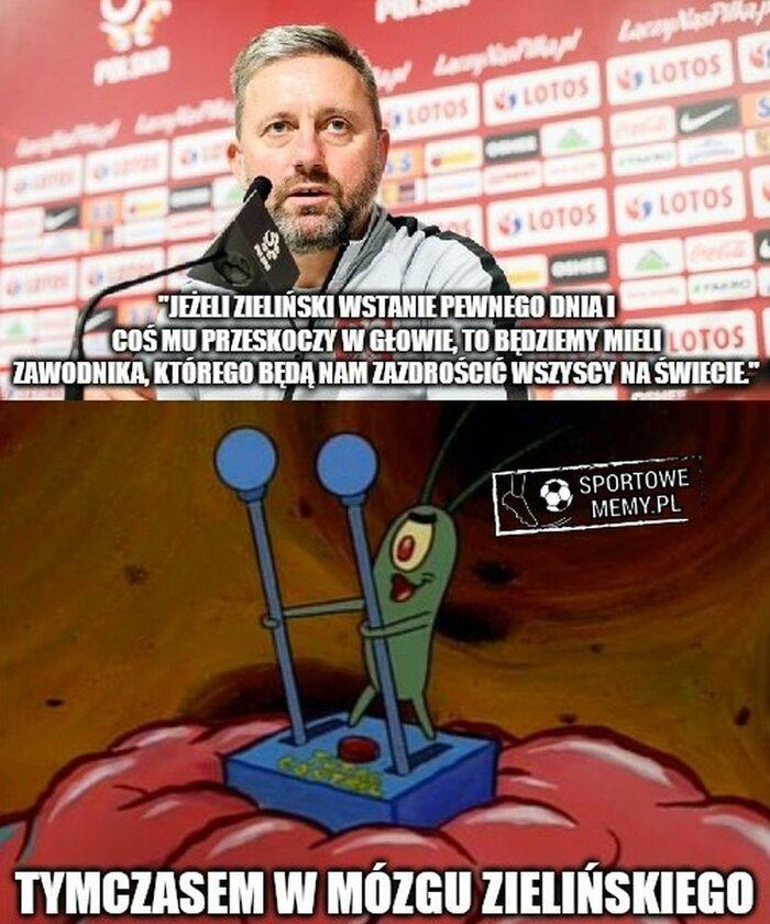 Mem po meczu reprezentacji Polski