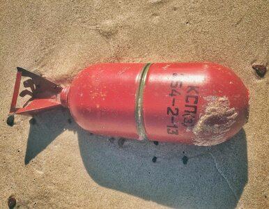 Bałtyk wyrzuca na brzeg pociski z rosyjskich okrętów podwodnych