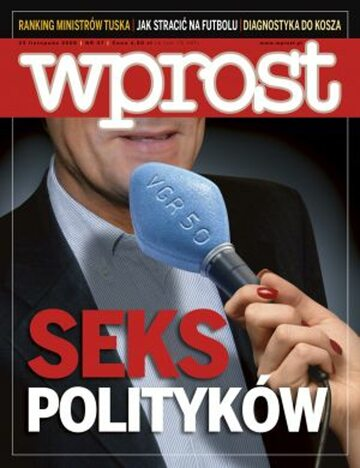 Okładka tygodnika Wprost nr 47/2008 (1352)
