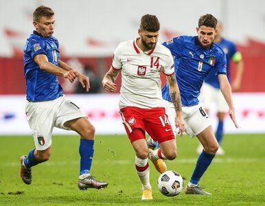 Polska remisuje z Włochami. Lewandowski nie dograł do końca spotkania