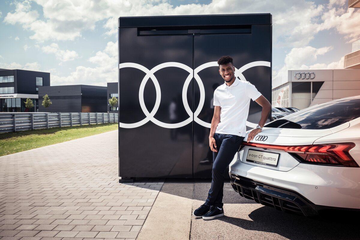 Samochody piłkarzy Bayernu Monachium