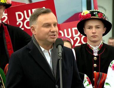 Andrzej Duda: W kampanii to mnie najbardziej dotknął zakaz spotkań...