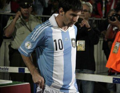 Eliminacje MŚ: Messi zwymiotował, Di Maria potrzebował maski tlenowej