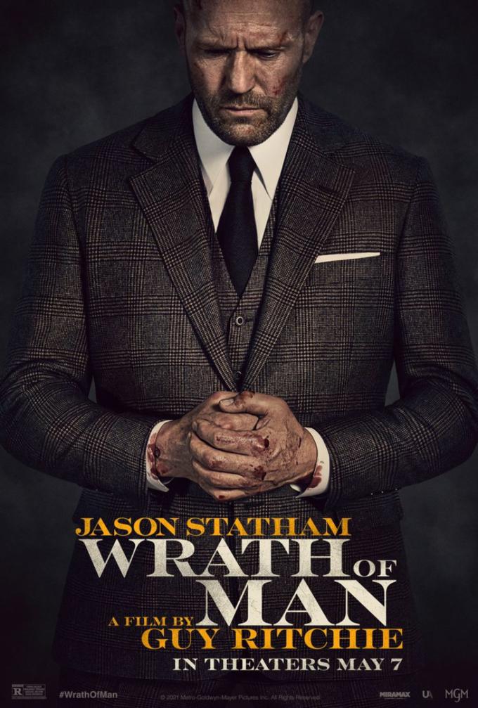 "Plakat dofilmu ""Wrath ofMan"""