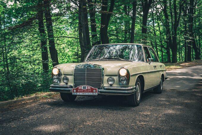 Klasyczne Mercedesy