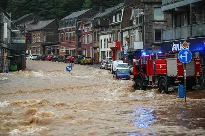 Tragiczne skutki powodzi w Niemczech