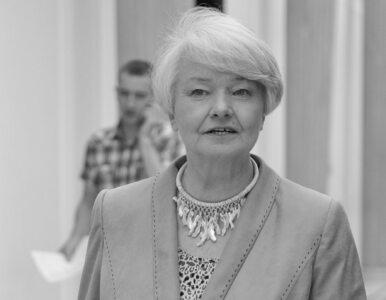 Nie żyje Krystyna Łybacka. Była posłanka i minister miała 74 lata