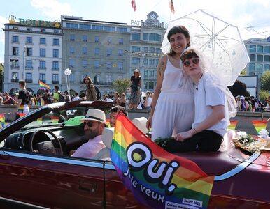 Referendum w Szwajcarii. Obywatele decydują o małżeństwach...